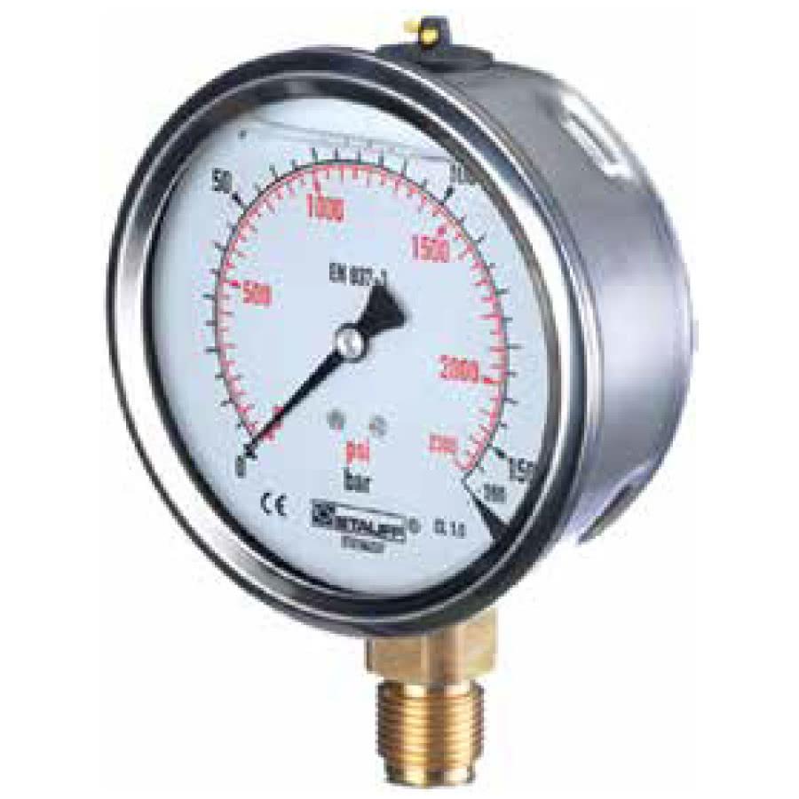 Pressure Gauges (Analogue & Digital) & Pipes